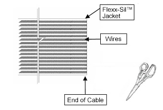 Cable Preparation - Step 1