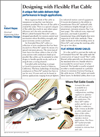 White Paper: Designing with Flexible Flat Cable