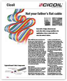 """Not Your Father's Flat Cable"""